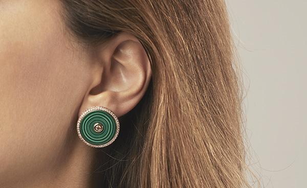 Alice Fournier Joaillerie boucles d'oreilles Opitiki