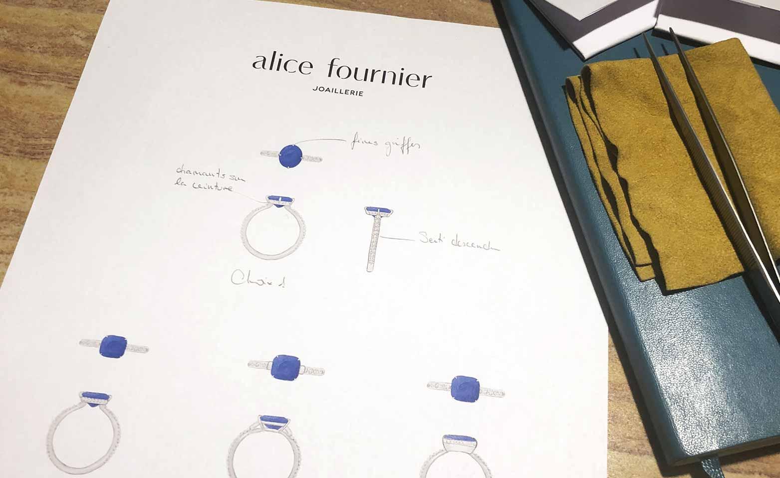 Alice Fournier Joaillerie - Sur-mesure
